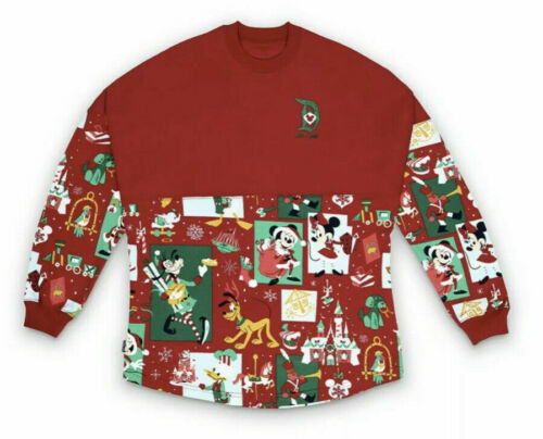 NEW Disneyland Christmas 2020 Mickey /& Friends Spirit Jersey Extra Large XL