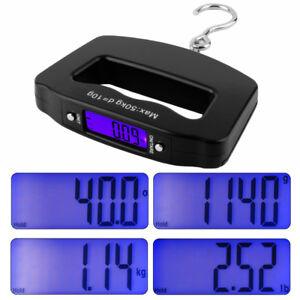 Mini-LCD-Digital-50KG-Handheld-Luggage-Scale-Plastic-Hanging-Scale-Pocket-Hook