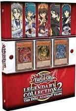 YuGiOh LEGENDARY COLLECTION #2 Duel Academy LC02 LCGX Binder Edition SEALED!
