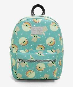 Disney Star Wars Baby Yoda Mini Backpack Chibi Mandalorian The Child Grogu Bag