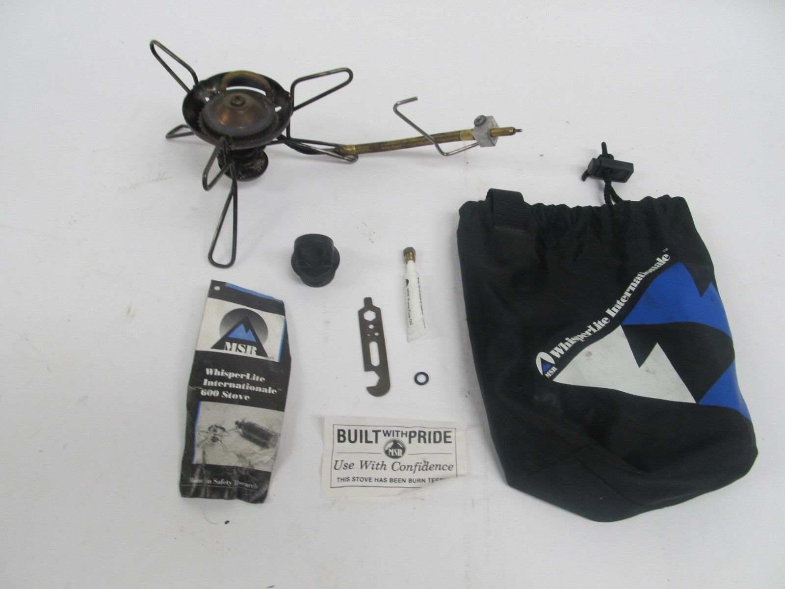 MSR WHISPERLITE INTERNATIONALE 600 CAMPING STOVE - ACCESSORIES - BAG