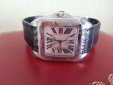New Cartier Santos 100 Automatic Medium Watch W20106X8