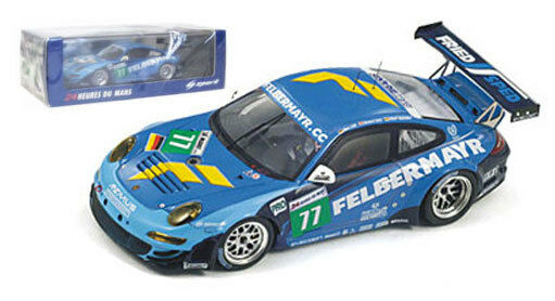 Étincelle S3418 Porsche 997 GT3 RSR Felbermayr-Prougeon  77 Le Mans 2011-1 43 échelle