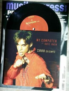 "Prince feat Kate Bush - My Computer & Shhh exclusive 7"" Vinyl Limited Edition"