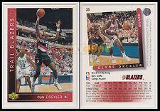 NBA UPPER DECK 1993/94 - Clyde Drexler # 33 - Trail Blazers - Ita/Eng - MINT