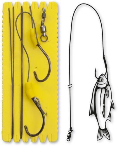 BLACK CAT Waller-Vorfach//-zubehör Bouy and Boat Ghost Single Hook Rig L 100kg6//0