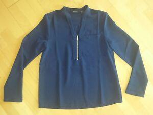 Damen-Bluse-Longbluse-Gr-36-laessig-chic-zu-Hose-Jeans