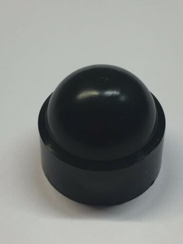 2 x M16 Black Dome Bolt Nut Protection Caps Covers Exposed Hex 24mm Spanner
