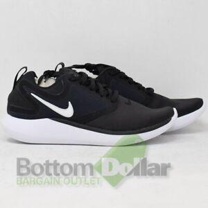 Nike LunarSolo Sock-Like Fit Women s Running Shoe AA4080-001 Black ... 3c0c9eb4f