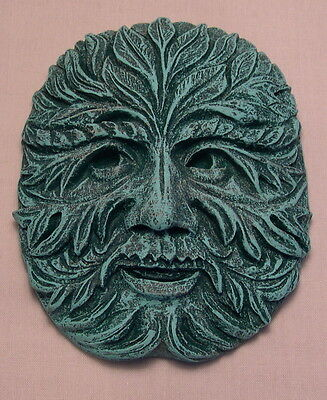 Green Man Wall Plaque , Pagan and Wiccan