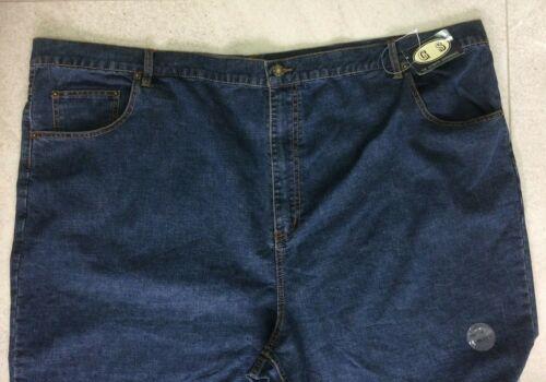 "New Bigger Big Mans Mens 100/% Cotton Stonewash Jeans Up To 56/"" Waist"