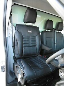 TO FIT A CITROEN RELAY VAN YS01  GREY DRIVERS SEAT COVER BLACK