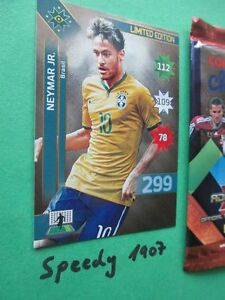 Copa America Chile 2015 Limited Edition Neymar Brasilien Adrenalyn