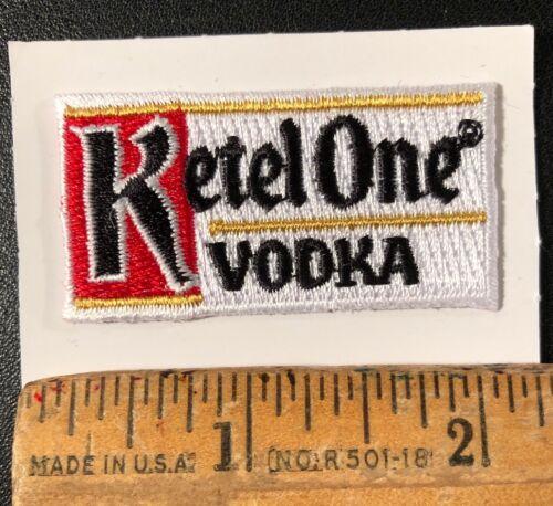 "Ketel One Vodka Distillery Liquor Embroidered Logo Patch 2"" x 1"""