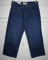 Boy's Size 8 Husky Arizona Jean Co. Classic Fit Dark Wash