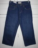 Boy's Size 8 Husky Arizona Jean Co. Classic Fit Dark Wash