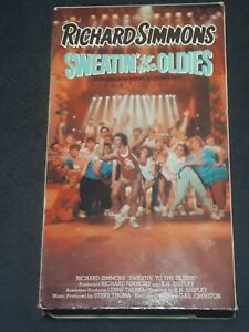 Richard-Simmons-Sweatin-To-The-Oldies-VHS-1988-Special-Interest