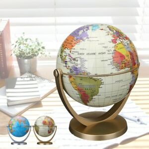 Image Is Loading Clic World Globe Antique Desktop Table Decor Geography