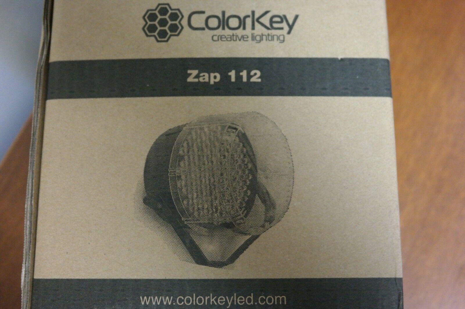ColorKey CKU01-6010 - Zap 112 RGB - Strobe Light 112×0.5W 10mm LED's (14C)