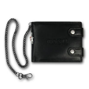 Biker-Wallet-Black-Leather-Wallet-Men-Purse-with-Chain-OPJ124S