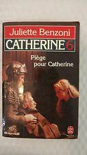 Piège Pour Catherine - Les Montsalvy (Livre de Poche, no. 4109)1973 by Juliette