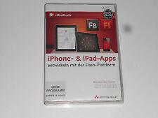 iPhone- & iPad-Apps entwickeln mit Flash - Videotraining (PC+MAC+Linux)