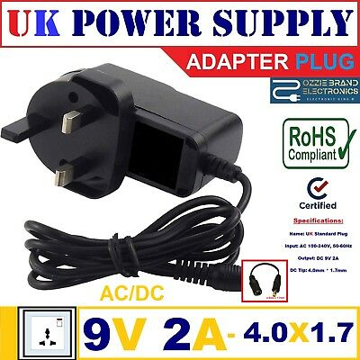 GOOD LEAD 5V 2A Mains ACDC Adaptor Power Supply Charger for CELLO T1144 10.1 Tablet PC
