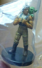 Star Wars miniatures Luke Skywalker and Yoda #14 the Force Unleashed