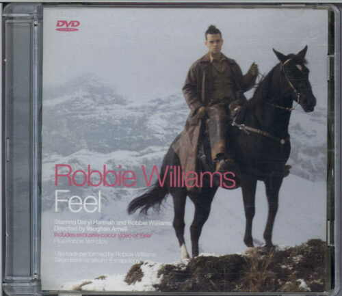 1 of 1 - ROBBIE WILLIAMS - FEEL 2002 EU DVD SINGLE CHRYSALIS - DVDCHS 5150 DARYL HANNAH