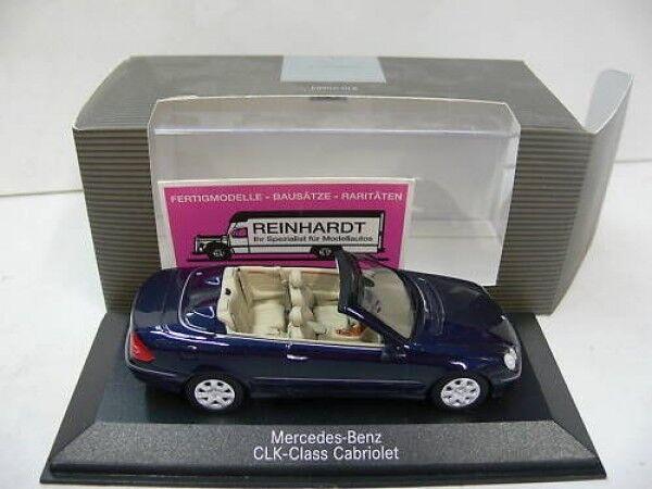 1 43 Minichamps MB CLK CABRIOLET 2003 Tanzanite-Bleu-Met. 696 1967
