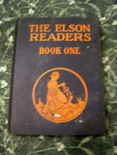 RARE 1930 The Elson Readers / Book One / Scott Foresman / Hardcover / Schoolbook