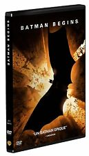 BATMAN BEGINS - CHRISTIAN BALE - CHRISTOPHER NOLAN - DVD EN TRÈS BON ÉTAT