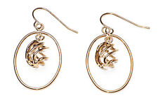ELEGANT LADIES GOLDEN/HOOP/SPIRAL EARRINGS EVENING/PARTY WEAR UNIQUE (ZX12)