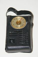 Vintage General Electric GE All Transistor Pocket AM Radio P1710C With Case