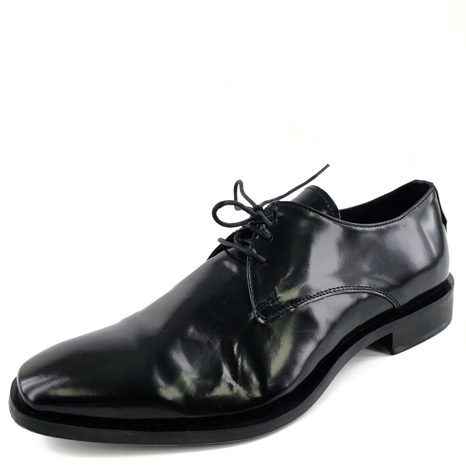 Kenneth Cole Gen-eration Black Leather Formal Oxfords shoes Men's Size 8.5 M