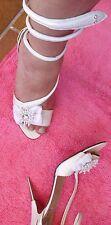 Designer Pumps Sandalette Schlange Design Strass 1 x getr 39 Unikat La Perla
