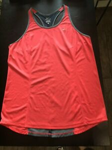 Womens XL Nike Dri-Fit Racerback Fitted Athletic Running Workout Tank Top