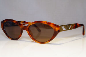 EMPORIO-ARMANI-Womens-Vintage-Designer-Sunglasses-Brown-Rectangle-530-144-21044