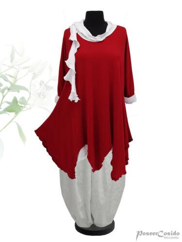 Xxxl 50 48 shirt L 56 Lagenlook Long 54 Xxl Xl Rot Design 52 Poco 46 58 Tunika n7tq8wxBqP