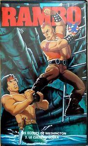Selten VHS Rambo Le Zeichen- Anime Nr. 4