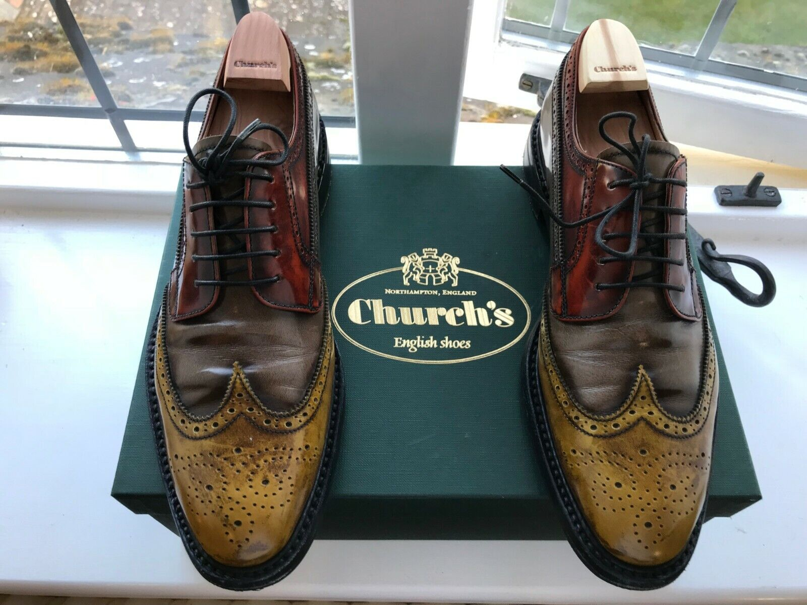 Church's Grafton 2 Women's Country Brogues UK Size 6 6 6 EU 39 889cde