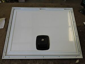Details about Custom Size RV Motorhome Trailer Cart Square Baggage  Compartment Access Door