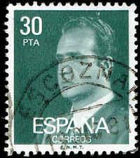 Scott # 2190 - 1981 - ' King Juan Carlos I '