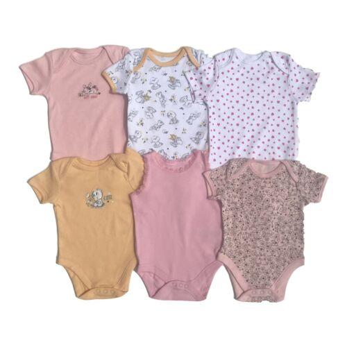 Bebé Niña Niño Body Ex Store 4//5//6 Bebé Crece 100/% Algodón