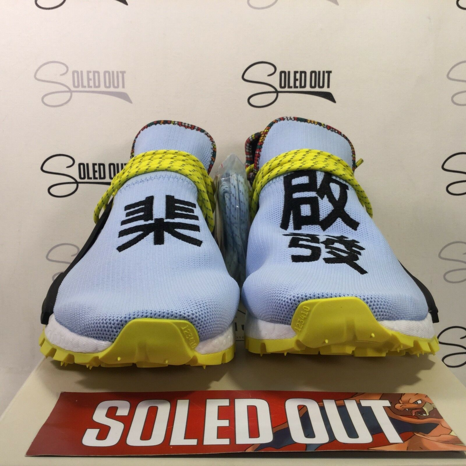 """6e4dc34ee82 ADIDAS PW HU NMD CLEAR SKY"""" 2018 ITEM 4307-167 SOLAR NUMBER ..."""