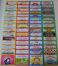 LOT 60 First Little Easy Readers SET Kindergarten Grade 1 Homeschool Level ABCD