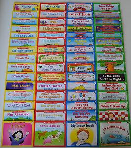 LOT-60-First-Little-Easy-Readers-SET-Kindergarten-Grade-1-Homeschool-Level-ABCD