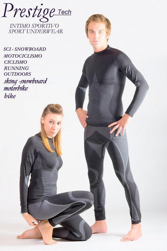 T shirt uomoica lunga Microfibra DRYARN° misura S-M