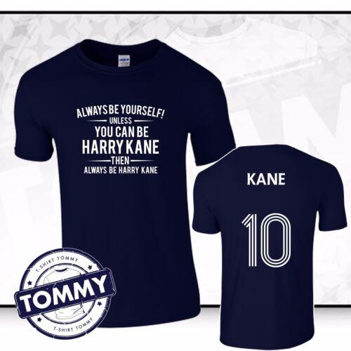 Tottenham Hotspurs Always Be.. Harry Kane T-Shirt COYS Blue Spurs Tee