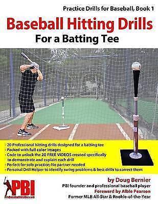 Baseball Hitting Drills for a Batting Tee: Practice Drills for Baseball, Book...